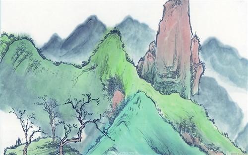 1920×1200:高清晰水墨画壁纸第二辑