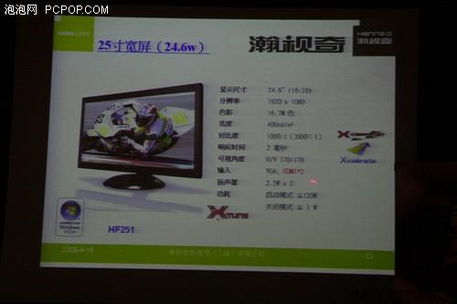 彰显品牌个性瀚斯宝丽球系列LCD发布