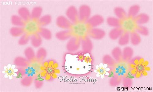 对应可爱的hello kitty主题壁纸