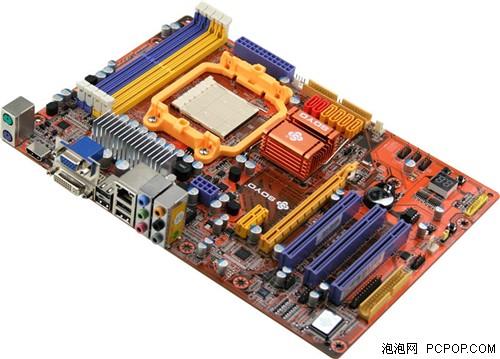 梅捷N8+主板-多多优惠 铭瑄84GS与MCP78还能玩SLI图片