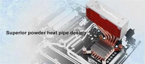 HTPC低功耗平台专用 5热管小巧散热器