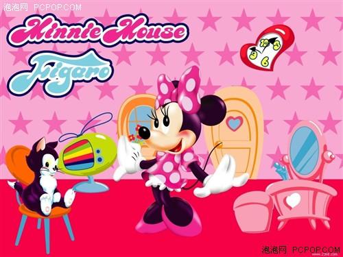 迪斯尼卡通人物米妮-美女都喜爱 迪斯尼经典卡通鼠标精选