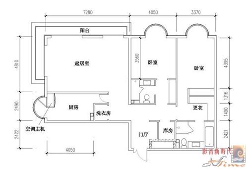我要建房子,需要一张平面设计图,宽6米长18米图片
