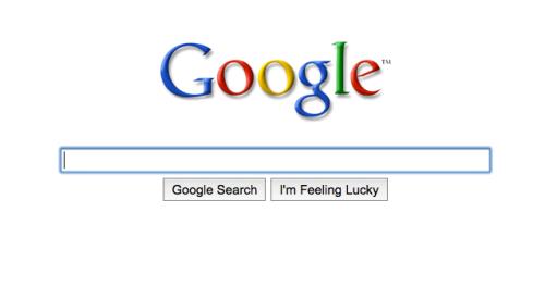 谷歌简洁版首页只留LOGO和搜索框 隐藏导航