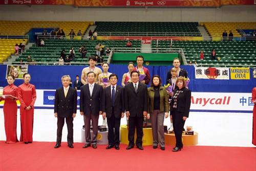 中国杯世界花样滑冰大奖赛是目前中国最高级别的花样滑冰...