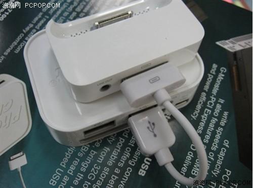 苹果手机必备 集3大功能一身的读卡器