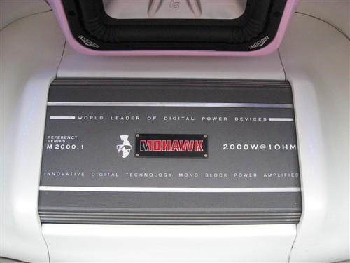 mohawkm2000.1 低音炮专用功率放大器高清图片