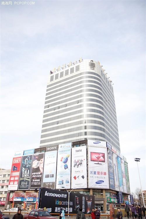 这里是哈尔滨著名的教化电子大世界