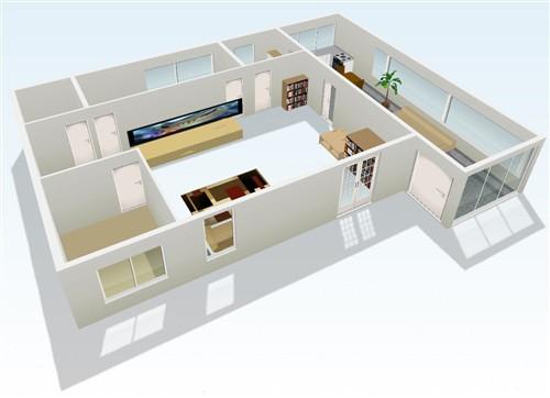 房屋结构示意图