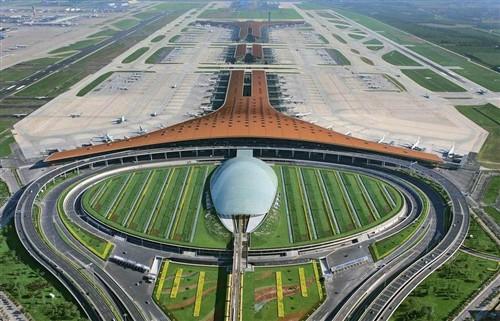 首都国际机场t3航站楼:全球最大单体建筑