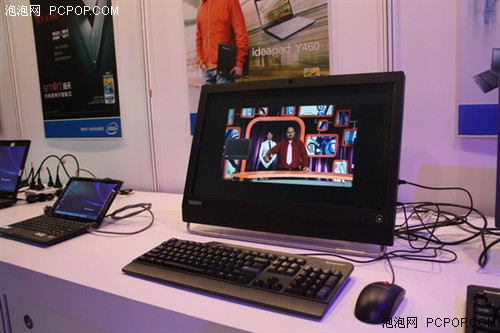 IDF2010联想展出ThinkCentre系列产品