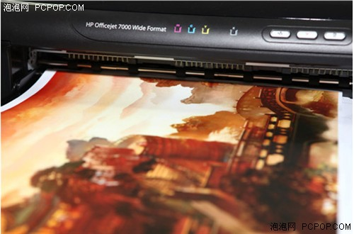 HP Oj7000经典A3+打印机剧组探访实录