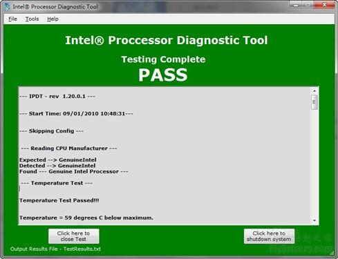 火眼金睛:Intel官方CPU诊断工具发布