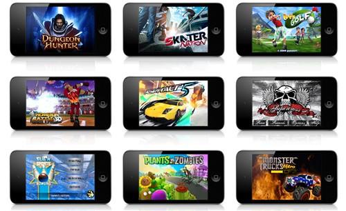 touch 4功能太强大 最新iPod家族图赏
