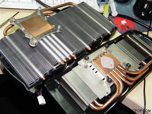 HD5830狂降30度 思民神秘显卡散热器