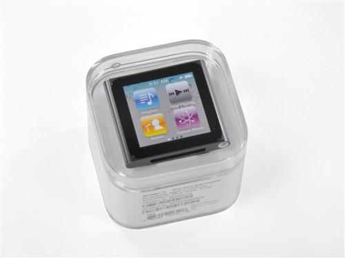 打开最小的多点触控!iPod nano6拆机