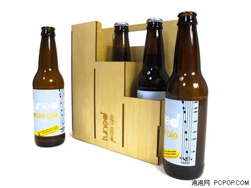 醉鬼也是音乐家!能当口琴吹的啤酒瓶图片