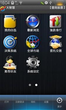 乐Phone享乐推荐软件 大智慧手机超赢