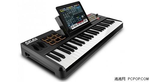 """奇妙的""""音乐键盘""""插上iPad就可以演奏"""