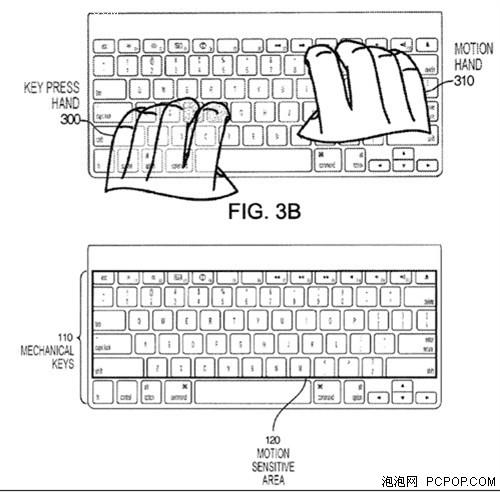 """可识别""""动作感应""""苹果最新键盘曝光"""