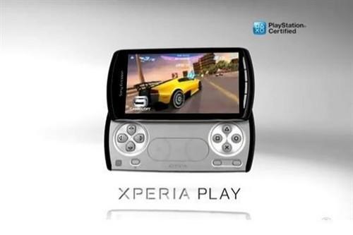索尼展示新款游戏智能手机XperiaPlay