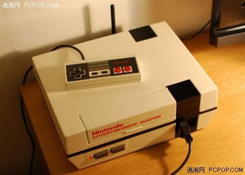 经典红白机造型!超炫HTPC高清播放器