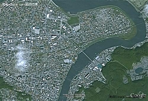 日本地震前后google高分辨率照片对比