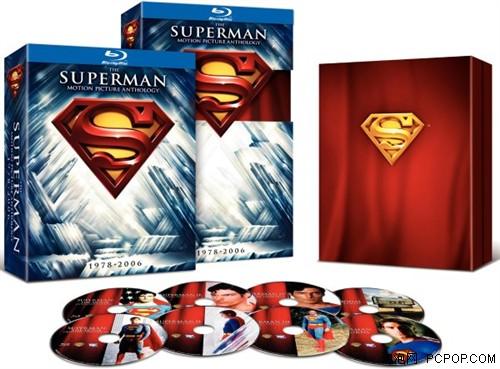 美国英雄![超人]蓝光套装6月7日发售