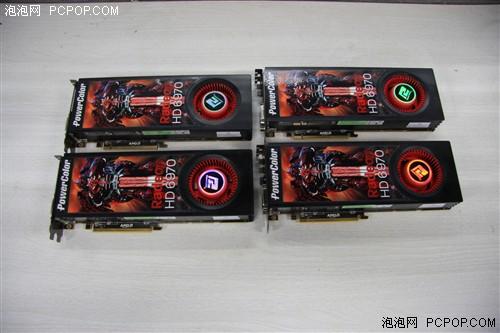 四块HD6970逞威 990FX四路交火测试!