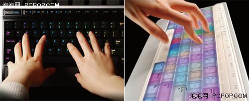 键盘也疯狂 Luxeed出LED变色闪光键盘
