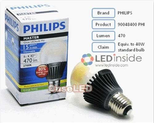 灯泡的led灯泡,包括飞利浦的8瓦master ledbulb, 及通用电气高清图片