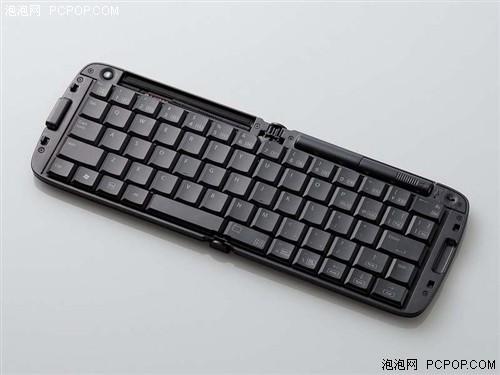 键盘像钱包!ELECOM新出折叠蓝牙键盘