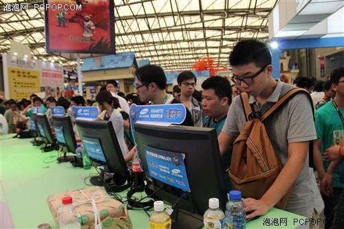 最佳游戏体验:技嘉8百PC支持ChinaJoy