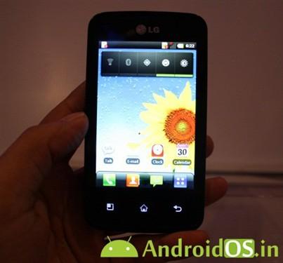 主打中端市场 LG Univa E510真机曝光