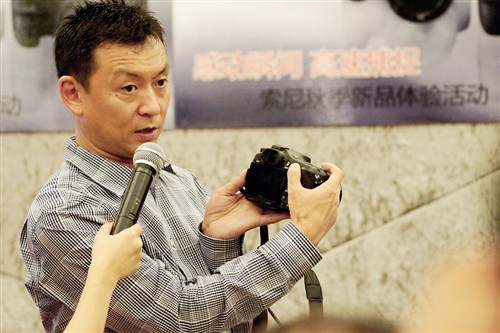 索尼A77大型外拍活动:体验顶级单电!