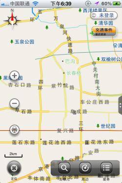 看中网爬香山 四款带地图定位功能APP
