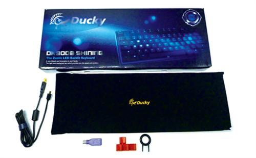 112个按键!Ducky背光机械键盘将上市