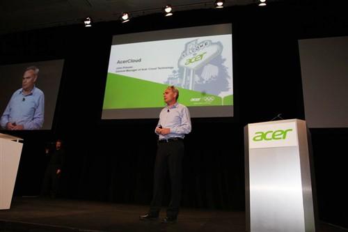 CES2012:宏碁AcerCloud云服务Q2上线
