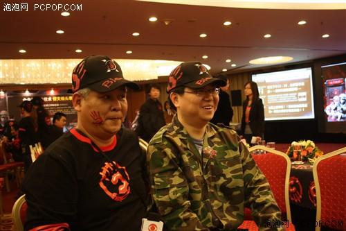 血手幽灵震撼发布 媒体访郑伟腾先生