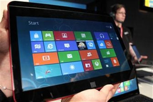 Wintel重出江湖 Win 8平板将重创iPad