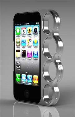 不求花哨但求实用 能防身的iPhone壳