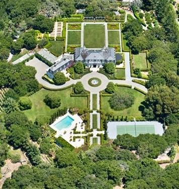 上亿别墅什么样?美国硅谷别墅开拍卖