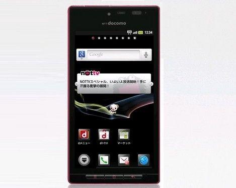 EVA主题手机 夏普SH-06D定制机已预售