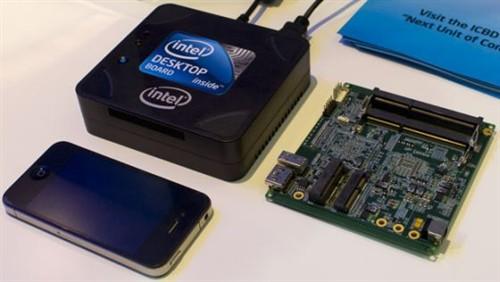 售价400美元 Intel巴掌大miniPC搭IVB