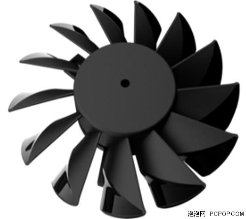 微星独家创新的刀锋叶片技术设计方案,提升20%气流