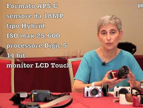 佳能EOS-M新微单 真机解析视频仔细看