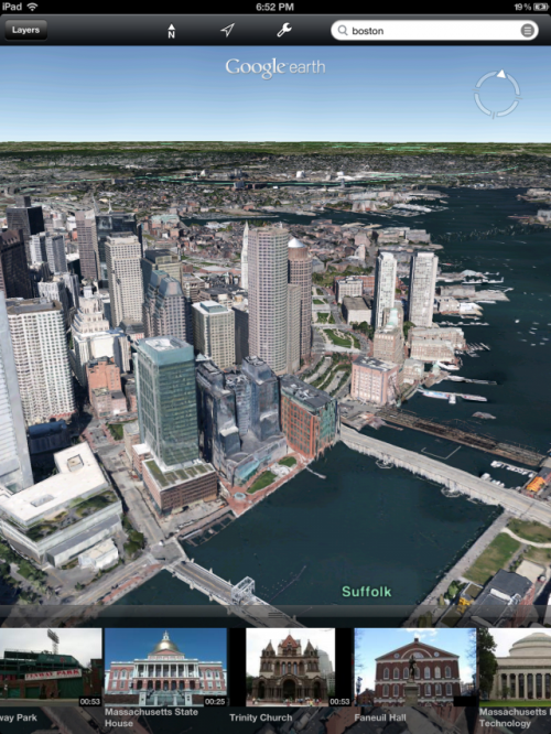 ios版谷歌地球7.0新发布!增加3d地图