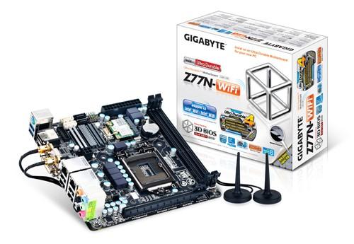 全能接口!技嘉发布ITX版Z77/H77主板
