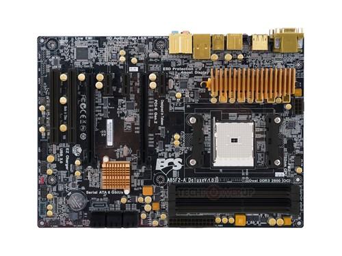 黄金打造 精英全球首发A85芯片组主板