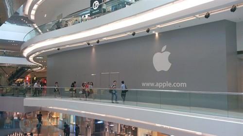 香港第二家苹果Apple Store即将开幕!